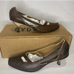 Cydwoq Pump Leather Height ARTM Women s Size 40 New W/ Box Hand Made In USA