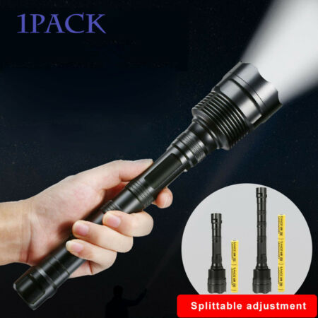 img-1XLED Super Bright Tactical 90000LM 14x T6 Flashlight Torch 18650 Hunting Lamp