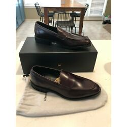 $395 Authentic Allen Edmonds Mercer Street Penny Loafer Mohogany Made In USA