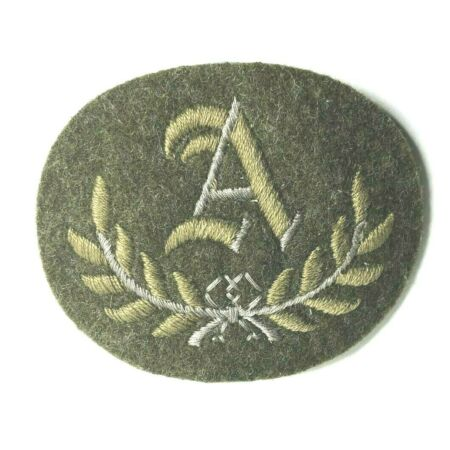 img-British Army A Class tradesman Cloth Patch badge 1950'-60's canvas Back NOS