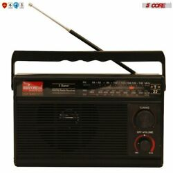 Kyпить 5Core ORIGINAL FM TRANSISTOR RADIO AM/FM 3 Band PORTABLE Vintage POWERED TC-22 на еВаy.соm