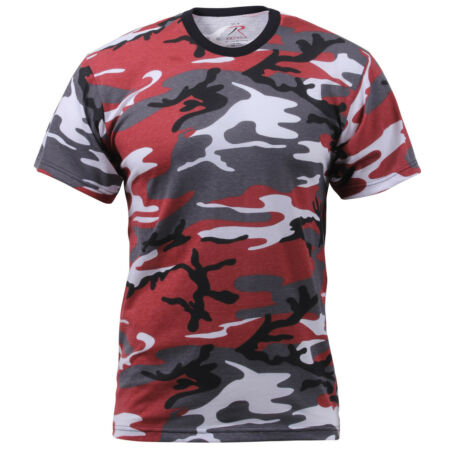 img-t-shirt camo red cotton poly blend camouflage rothco 6006