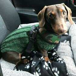 HANDMADE WARM DACHSHUND SAUSAGE DOG WEINER JUMPER COAT AVAILABLE IN MANY COLOURS