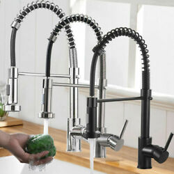 Kyпить Commercial Kitchen Sink Faucet Spring Pull Down Sprayer Single Handle Mixer Tap на еВаy.соm