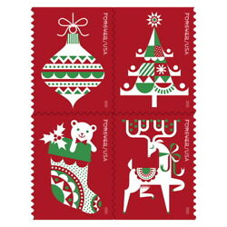Kyпить USPS New Holiday Delights Booklet of 20 на еВаy.соm