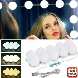 Kyпить Make Up Mirror Lights 10 LED Kit Bulbs Vanity Light Dimmable Lamp Hollywood на еВаy.соm