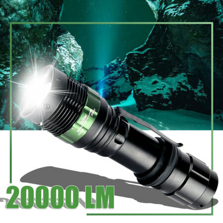 img-20000LM LED Torch Flashlight Police Zoomable Sport Hiking Lamp UK Stock