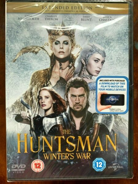 Royaume-UniChasseur Winter's War DVD 2014  Film W/Charlize Theron Emily Blunt