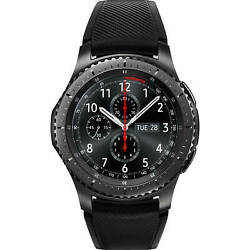Kyпить Samsung Gear S3 Frontier 46mm SM-R760 Black Bluetooth Smartwatch - New Open Box на еВаy.соm