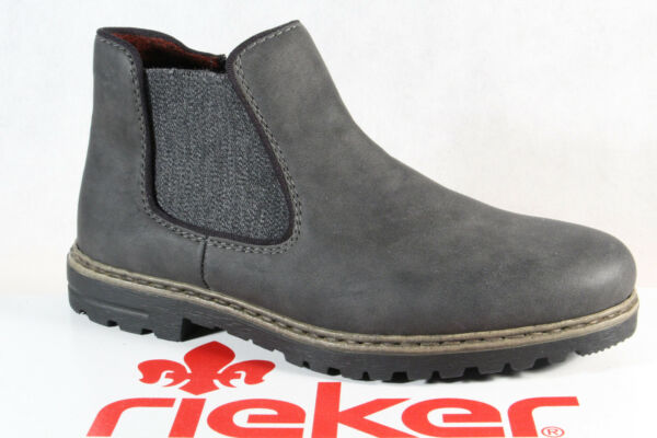 AllemagneRieker s Bottines Chaussures Basses Bottes Chaussures D'Hiver Y4894 Neuf