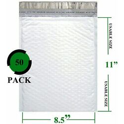 Sales4Less #2 Poly Bubble Mailers 8.5X12 Padded Envelopes Waterproof  50 Pack