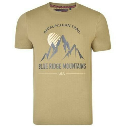 Royaume-UniKam Hommes Grand  Mountain Trail T-Shirt (5321)