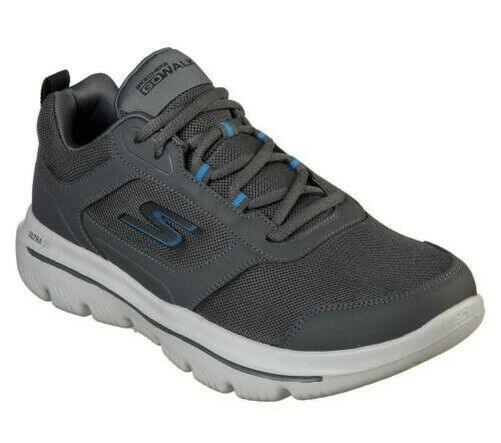 Royaume-UniSkechers Homme Gowalk Evolution Ultra-Enhance  / Baskets au Fusain /