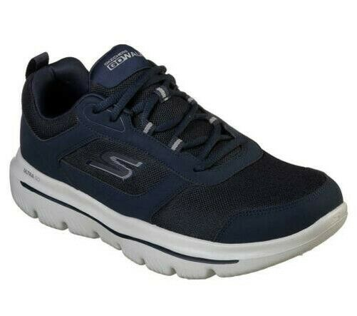 Royaume-UniSkechers Homme Gowalk Evolution Ultra-Enhance /Baskets en Bleu Marine