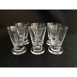 Kyпить RARE AND BEAUTIFUL SET OF 6 ORREFORS SHIPS BOATS NAUTICAL ETCHED SHOT GLASSES на еВаy.соm