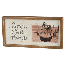 Love the Little Things Inset Box Frame