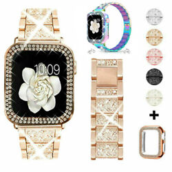 Kyпить Bling iWatch Strap Case For Apple Watch Band Series 6 5 4 3 2 1 SE 38 40 42 44mm на еВаy.соm
