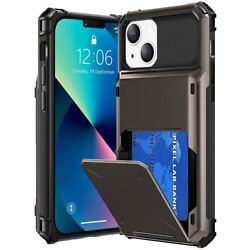 Wallet Case 5 Credit Card ID Holder Slim Case Phone Cover For iPhone 12 11 XR XS