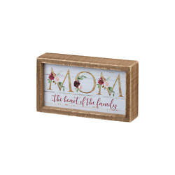 Heart of the Family Box Sign