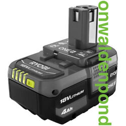 Kyпить GENUINE OEM RYOBI P197 LITHIUM-ION LI-ION 18V ONE+ 4.0Ah BATTERY REAL BRAND NEW  на еВаy.соm