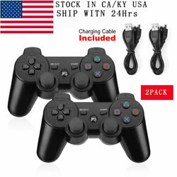 Kyпить 2PCS Wireless Bluetooth Video Game Controller Pad for PS3 Playstation 3 Black US на еВаy.соm