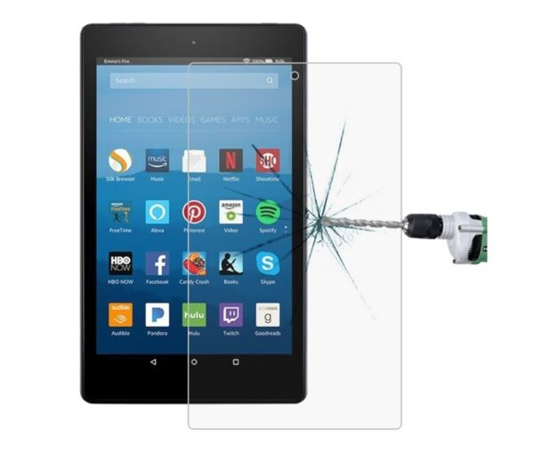 EspagneProtector Screen Glass Tempered For Amazon Kindle Fire HD 8 2017