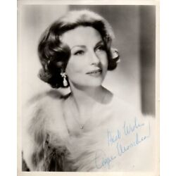 Kyпить M-AGNES MOOREHEAD  Autograph  Photo  w/coa-BEWITCHED на еВаy.соm