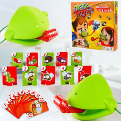Chameleon Mask Tic Tac Tongue Bug Catch Lizard Quickdraw Card Competitive Game