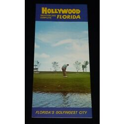 Kyпить Vintage 1960's Hollywood, Florida Brochure на еВаy.соm