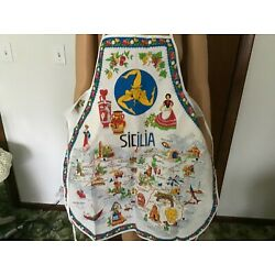 Kyпить Italy Souvenir Apron, NEW OLD STOCK на еВаy.соm
