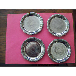 Kyпить SET OF 4 SILVER PLATED EP ON STEEL -ITALY на еВаy.соm