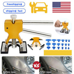 Kyпить Car Paintless Dent Repair Puller Remover Kit Lifter Dint Hail Damage 18 Tab Tool на еВаy.соm