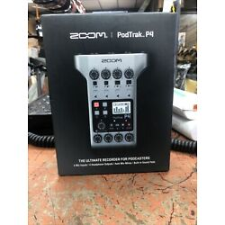 Kyпить Zoom PodTrak P4 Podcast Recorder New на еВаy.соm