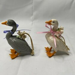 Kyпить RARE 2 VINTAGE Renaker Brazel BEACHSTONE CALIFORNIA DUCK GOOSE CERAMIC ORNAMENT на еВаy.соm