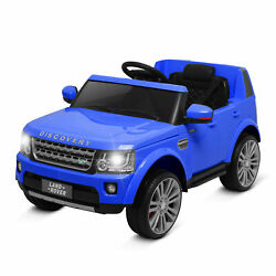 Kidzone Kids 12V Battery Ride On Licensed Land Rover Discovery Vehicle