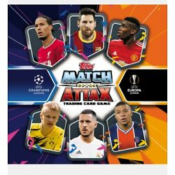 Topps Match Attax 20/21 - Each packet contains cards. Guaranteed Limited...