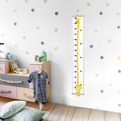 Kids Children Height Growth Chart Measure Wall Hanging Ruler Decal Home Decor US