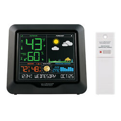 S84107 La Crosse Technology Wireless Color Weather Station with TX141TH-BV3