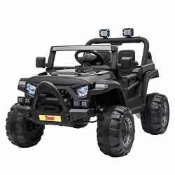 Kyпить 12V Kids Ride On Truck with Remote Control Battery Powered Ride on Toy Car  на еВаy.соm