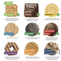 Kyпить ABC Bakers Girl Scout Cookies YOU - PICK  RE-STOCKED IN-HAND!!!  на еВаy.соm