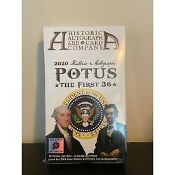 Kyпить Historic Autographs POTUS The First 36 Hobby Box на еВаy.соm