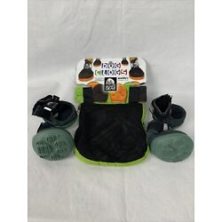 Dog Clog Booties Granite Gear Traction Paw Protection Doggy Shoes Size Small