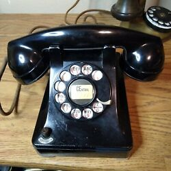 Kyпить !939 Western Electric 302 telephone, metal casing with on/off switch. Rare! на еВаy.соm