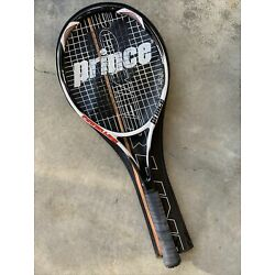 Kyпить Prince Power Line Classic Ti - Oversize Tennis Racket 4 1/4 Case Excellent!!! на еВаy.соm