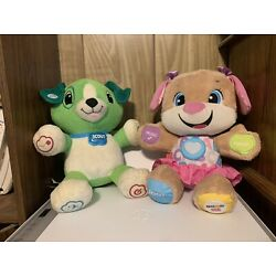 Kyпить Fisher Price And Leap Frog Interactive Teddy Bears. Learning Toys For Children.  на еВаy.соm
