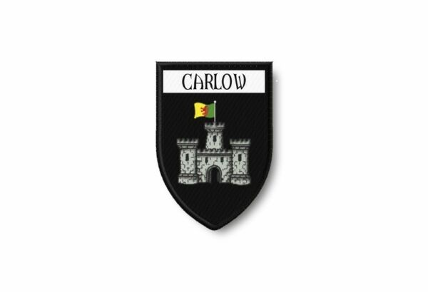 FrankreichPatch Edge Embroidered Coat of Arms Printed Thermoadhesive City  UK Carlow