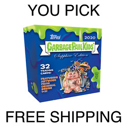 Kyпить YOU PICK TOPPS CHROME SAPPHIRE GARBAGE PAIL KIDS GPK BASE FINISH YOUR SET!! на еВаy.соm