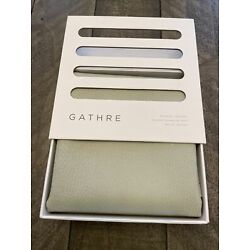Kyпить NEW IN BOX Gathre Leather Mat Playmat MICRO PEWTER (Gray) Changing Mat на еВаy.соm
