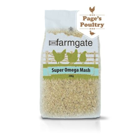 img-PREMIUM Farmgate Super Omega Mash - Poultry Layers 20kg *Next Day Delivery*