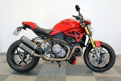 2017 17-PLATE DUCATI MONSTER M1200S M1200 S ** JUST 3,992 MILES ** EXTRAS **
